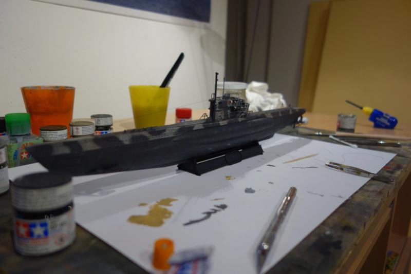 U-Boot TYP VII C/41 Revell 1/144 Dsc03634