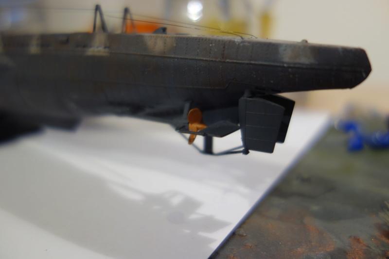 U-Boot TYP VII C/41 Revell 1/144 Dsc03641