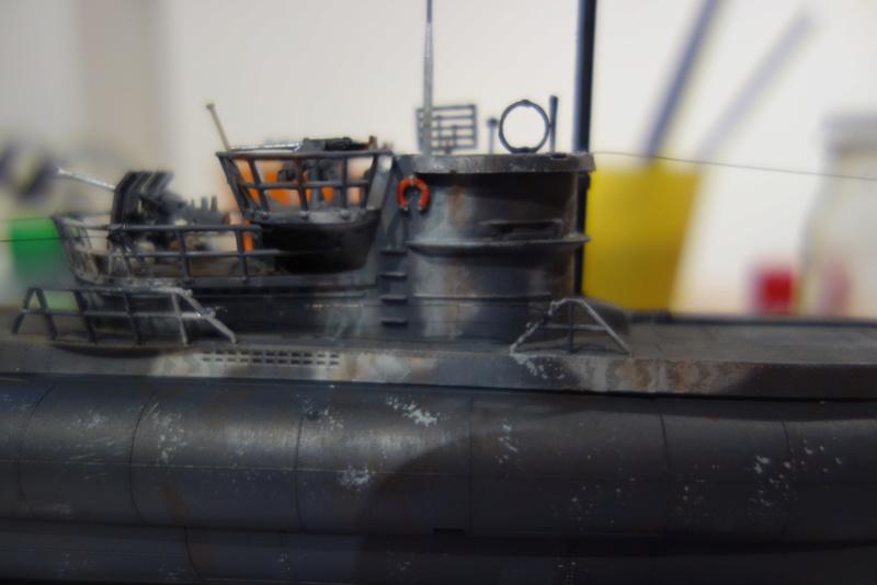 U-Boot TYP VII C/41 Revell 1/144 Dsc03642