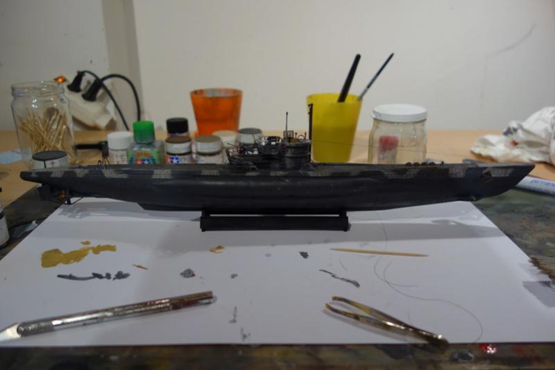 U-Boot TYP VII C/41 Revell 1/144 Dsc03647