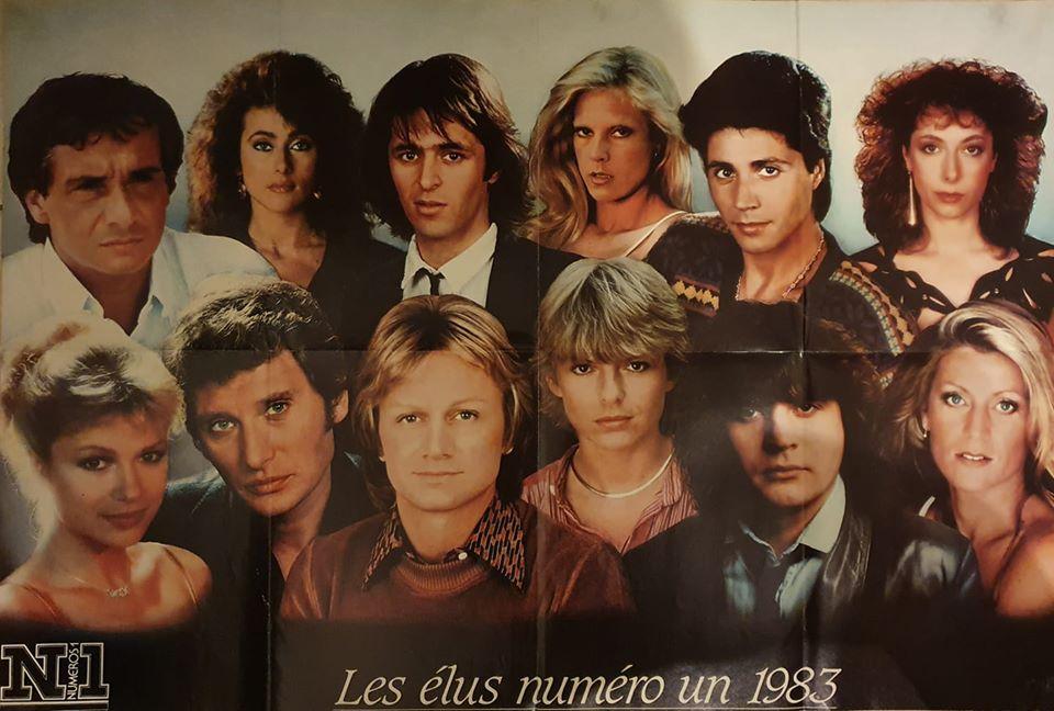 Magazine Numéro Un 1983 Sylvie12