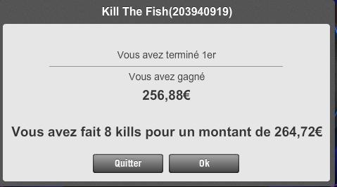 WIN DU KILL THE FISH 5€ 1erkil10