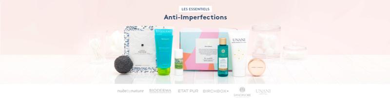 Edition limitée Les essentiels Anti-imperfections Header10