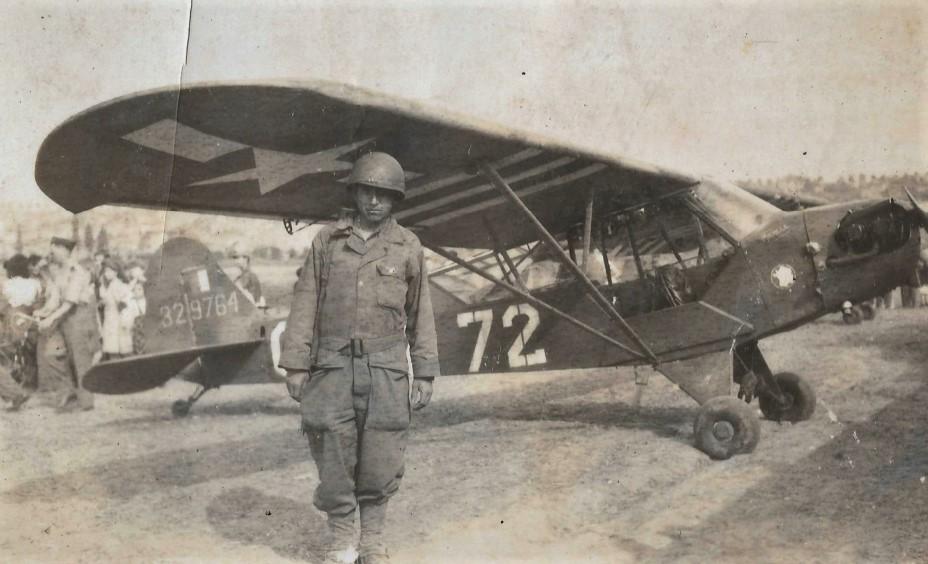 Identification d'un Piper de la 2e DB 50_31010