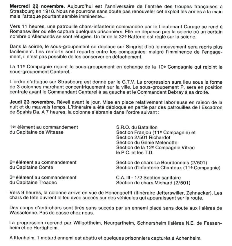 9ème Compagnie du Régiment de Marche du Tchad - Strasbourg 9-iiir10