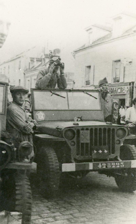 Jeep du Général Leclerc, projet de décals au 35e Antony13