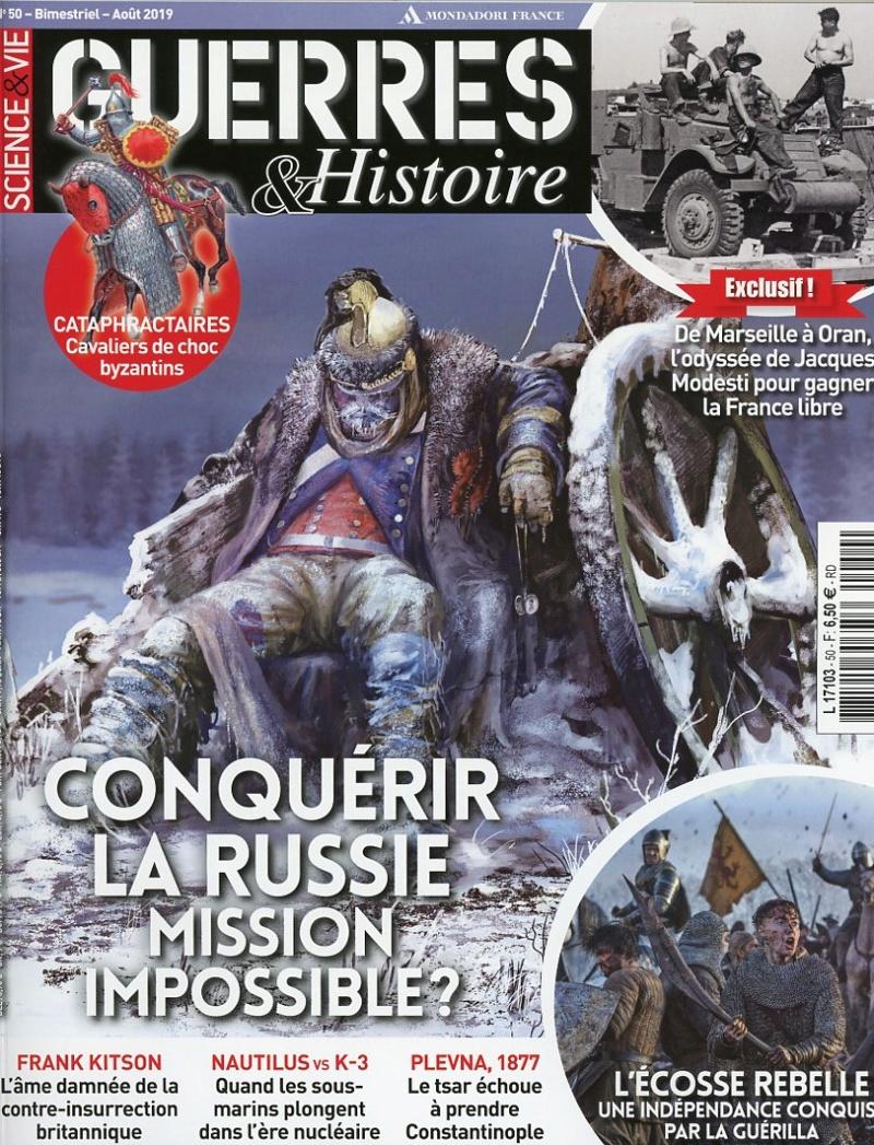 magazine GUERRES & HISTOIRE n°50 - août 2019 Guerre10
