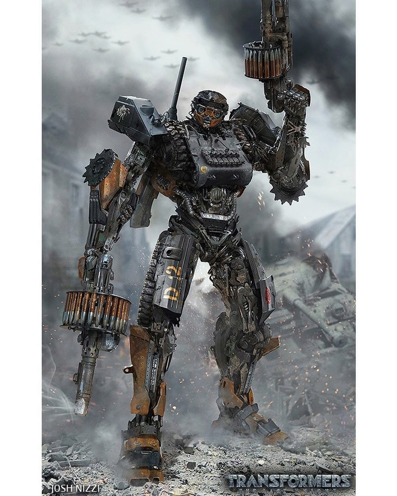 Concept Art des Transformers dans les Films Transformers - Page 6 Josh-n10
