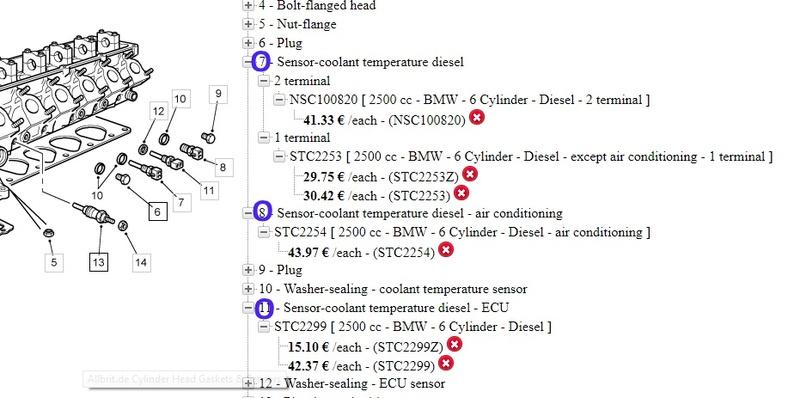 Sondes de temperature Sondes11