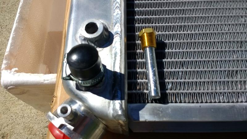Radiator 4 row. Alumin11