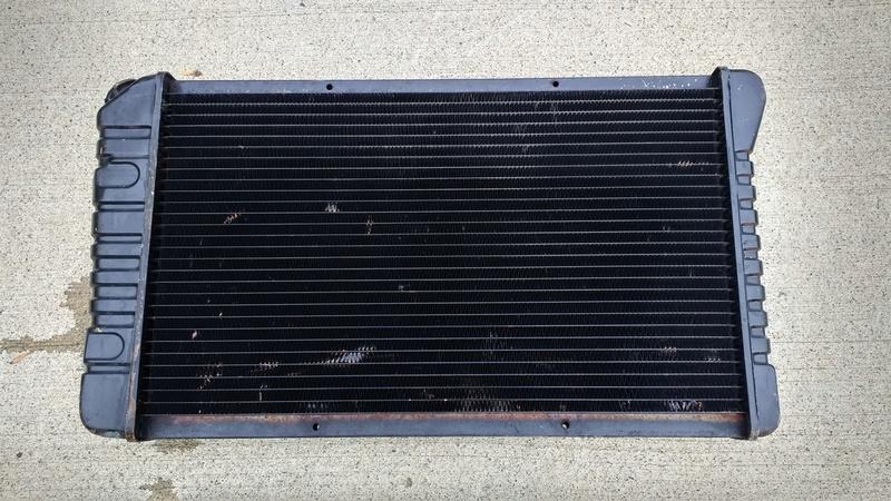 Radiator 4 row. Radiat10