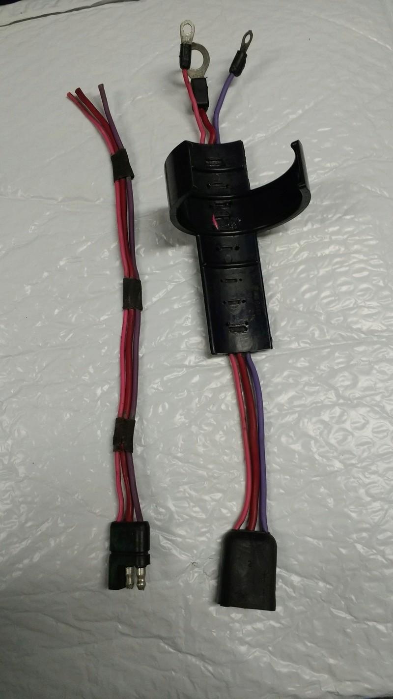 Moroso Starter Disconnect harness Starte11