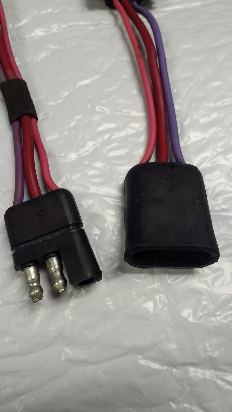Moroso Starter Disconnect harness Starte13