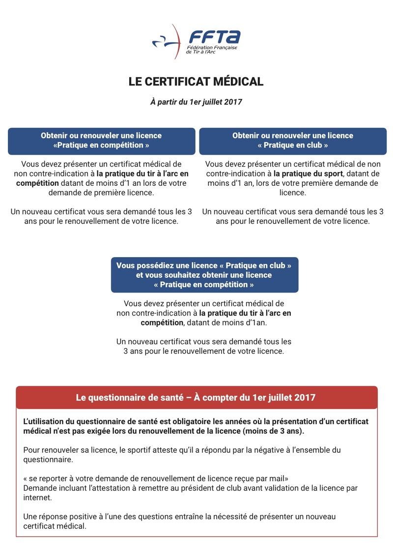 Certificat médical 2016/2017 - Page 2 Affich10