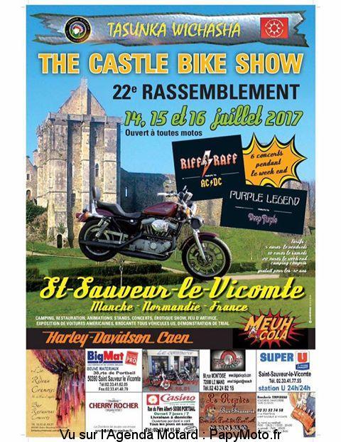 THE CASTLE BIKE SHOW – SAINT SAUVEUR LE VICOMTE (50) The-ca10