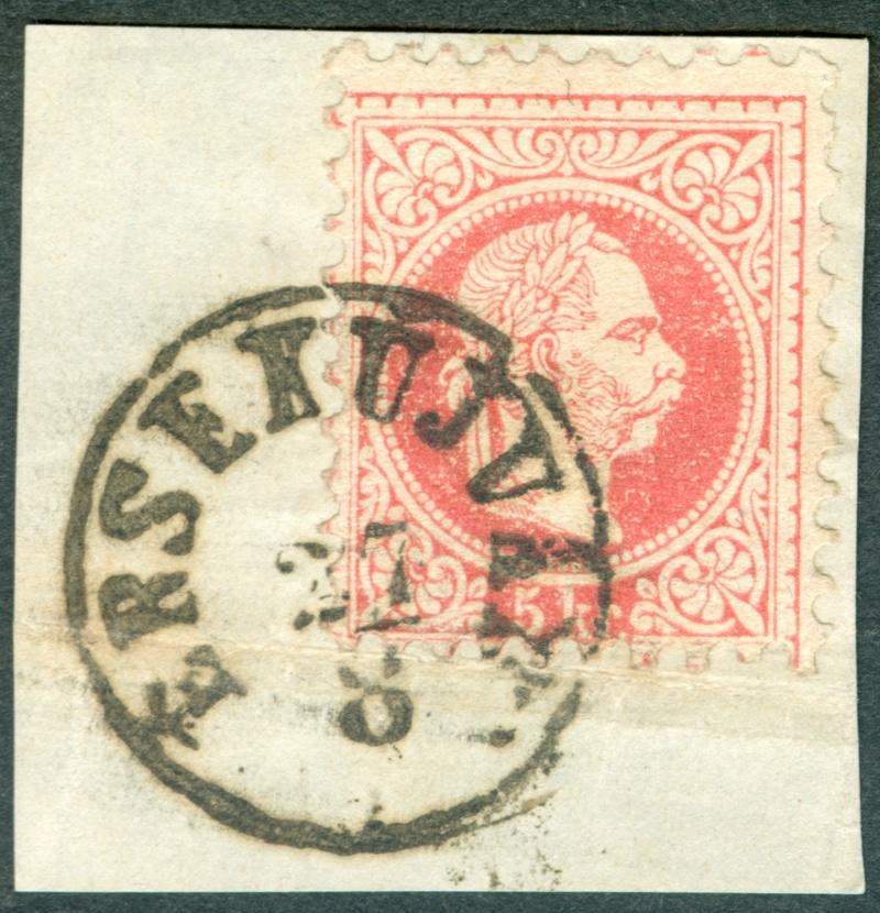 Freimarken-Ausgabe 1867 : Kopfbildnis Kaiser Franz Joseph I - Seite 18 1867_510
