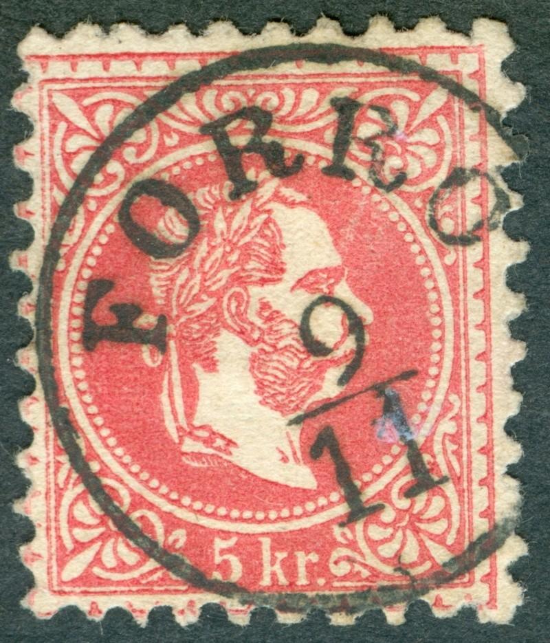 Freimarken-Ausgabe 1867 : Kopfbildnis Kaiser Franz Joseph I - Seite 18 1967_510