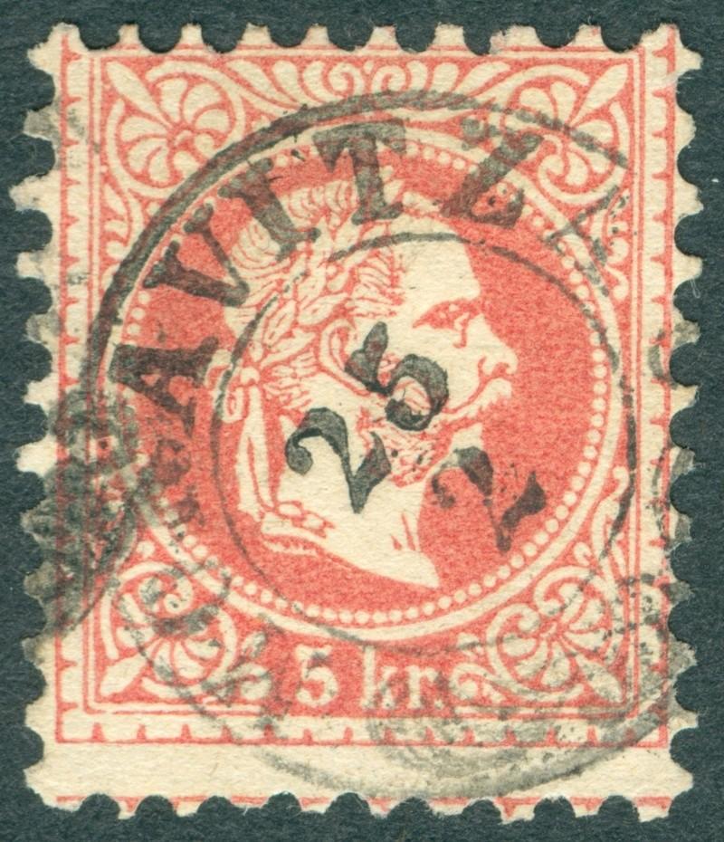 Freimarken-Ausgabe 1867 : Kopfbildnis Kaiser Franz Joseph I - Seite 18 1967_511