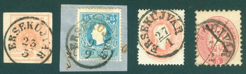 Freimarken-Ausgabe 1867 : Kopfbildnis Kaiser Franz Joseph I - Seite 18 Ungarn11