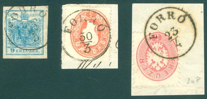 Freimarken-Ausgabe 1867 : Kopfbildnis Kaiser Franz Joseph I - Seite 18 Ungarn12