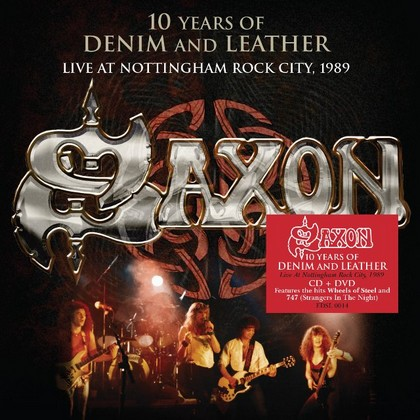 10 Years Of Denim And Leather – Live 1990 Saxon-10