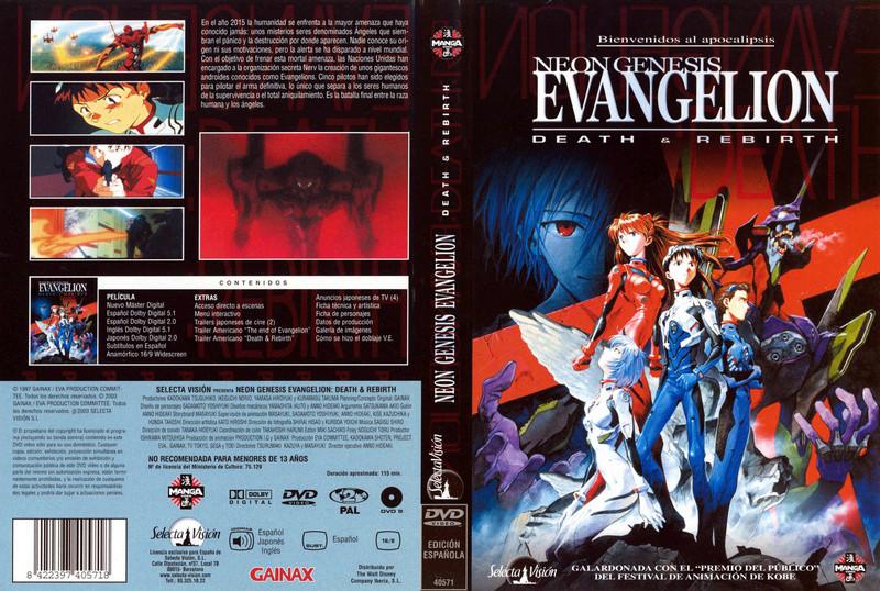 Evangelion Death and Rebirth 1997 HD Dual Cast/Ing + Sub Lat/Ing servidor Mega Evange10