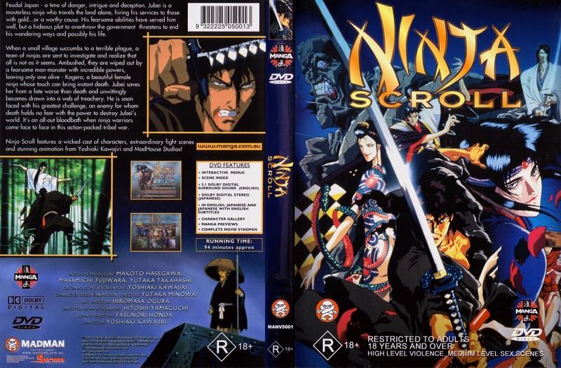 Ninja Scroll 1993 Multi Lat/Cast/Ing/Jap Sub Lat/Ing Formato Mkv calidad 720p Ninja_10