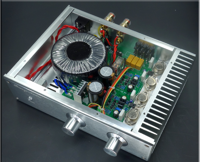 Breeze Audio -  HDAM module Integrated Amplifier (Upgraded) A-111