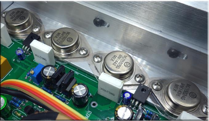 Breeze Audio -  HDAM module Integrated Amplifier (Upgraded) B-111