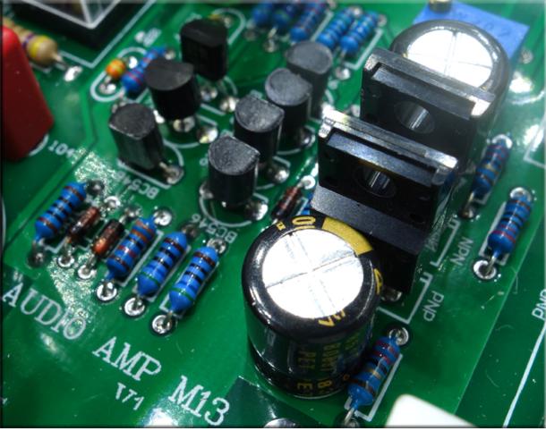 Breeze Audio -  HDAM module Integrated Amplifier (Upgraded) E-110
