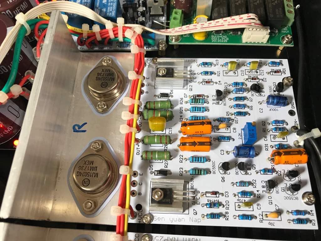 SOLD - DIY Amplifier -  Naim NAP250 Img-2012
