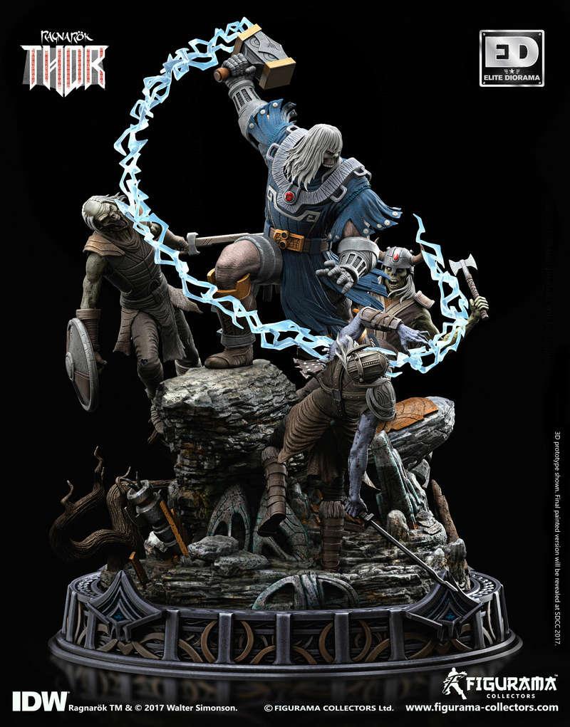 RAGNARÖK - Thor - Figurama Collectors 2-110