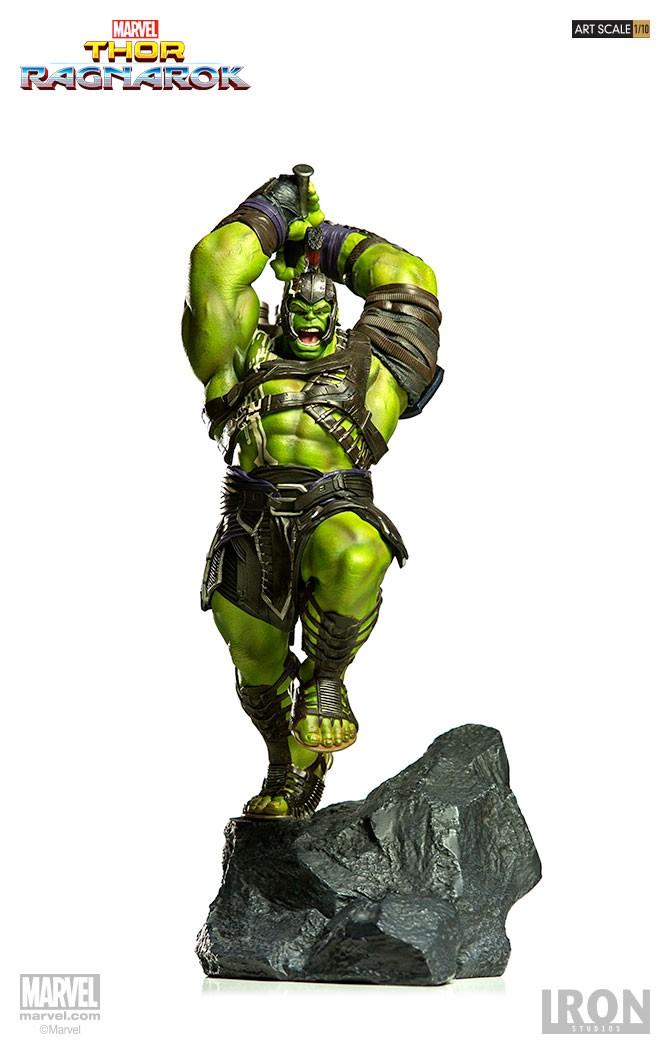 IRON STUDIOS: HULK Thor Ragnarok  Branco15