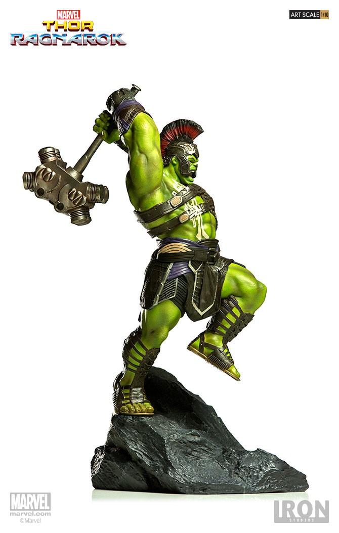 IRON STUDIOS: HULK Thor Ragnarok  Branco17