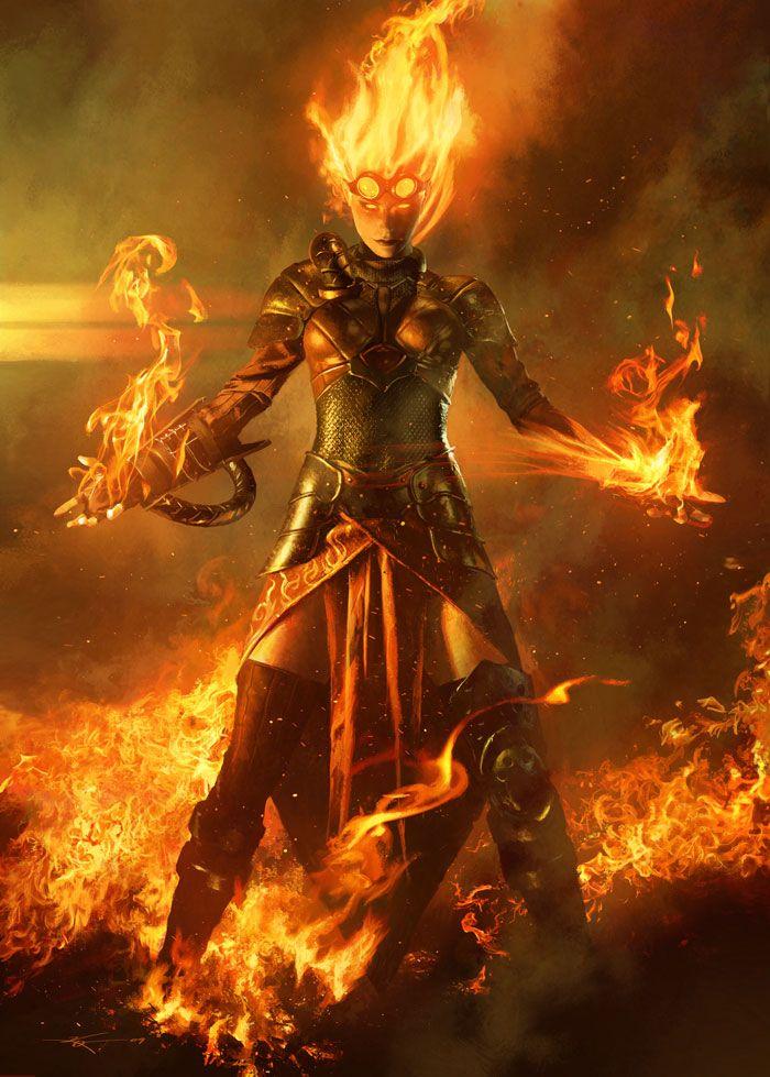Magic: The Gathering - Chandra - Prime 1 Studio C4019710