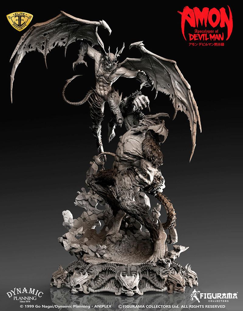 Amon: Apocalypse of Devilman - Devilman VS Amon- Figurama Collectors  Dev-210