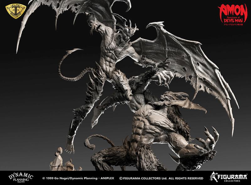 Amon: Apocalypse of Devilman - Devilman VS Amon- Figurama Collectors  Dev-710