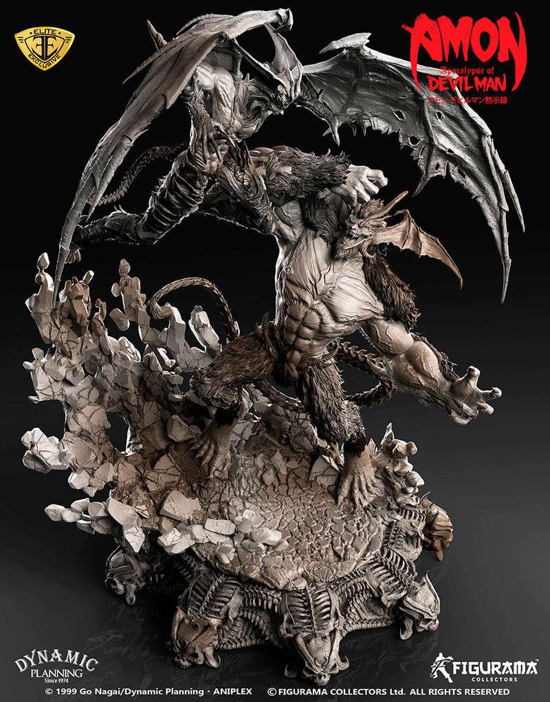 Amon: Apocalypse of Devilman - Devilman VS Amon- Figurama Collectors  Dev-810
