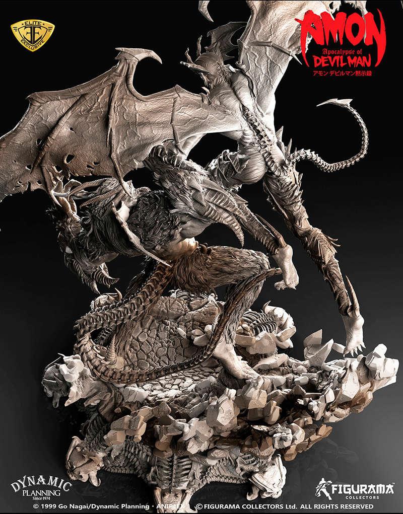 Amon: Apocalypse of Devilman - Devilman VS Amon- Figurama Collectors  Dev-910