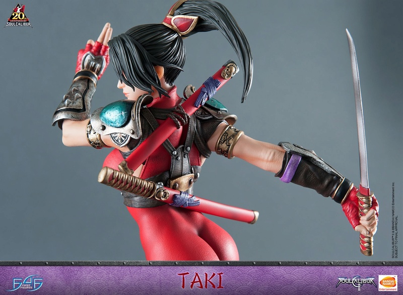 Soul Calibur II - Taki - First 4 Figures Horizo12
