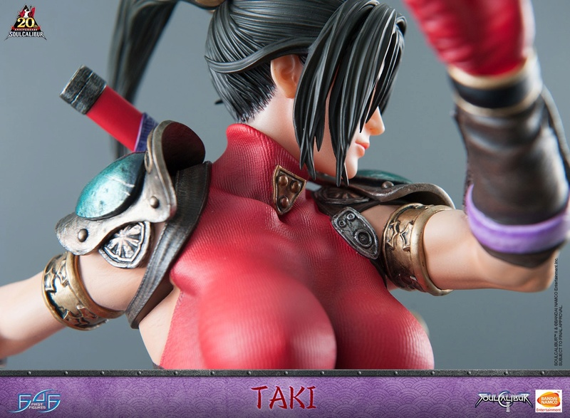 Soul Calibur II - Taki - First 4 Figures Horizo13