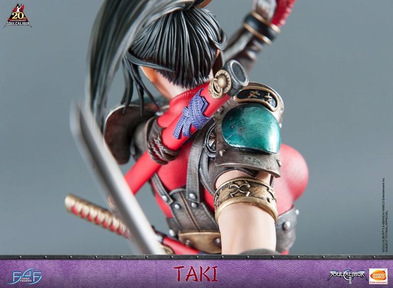 Soul Calibur II - Taki - First 4 Figures Horizo14