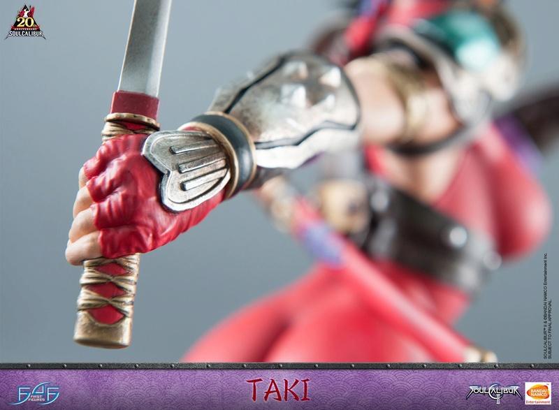 Soul Calibur II - Taki - First 4 Figures Horizo15