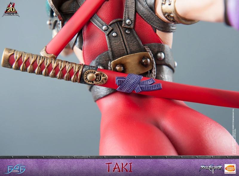 Soul Calibur II - Taki - First 4 Figures Horizo16