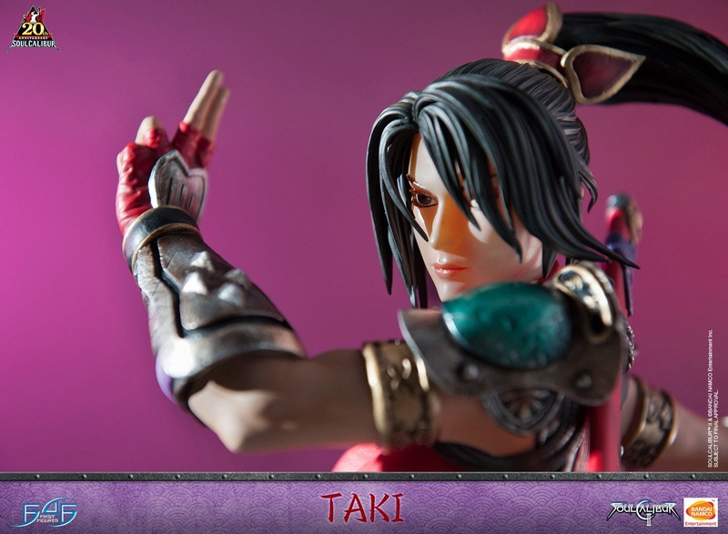 Soul Calibur II - Taki - First 4 Figures Horizo18