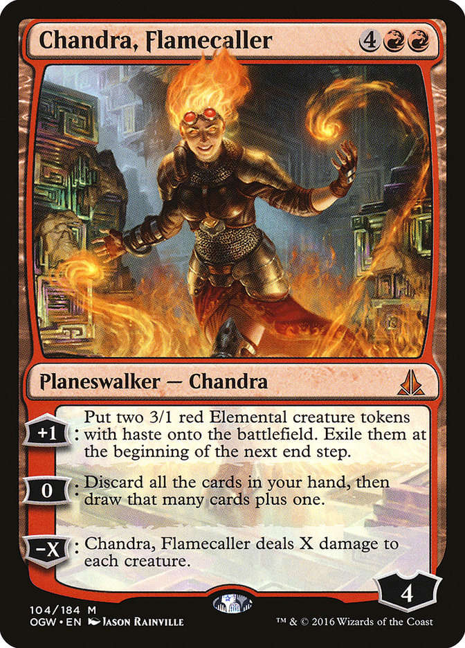 Magic: The Gathering - Chandra - Prime 1 Studio Ogw-1010