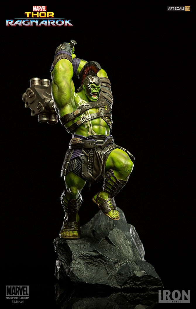 IRON STUDIOS: HULK Thor Ragnarok  Preto016