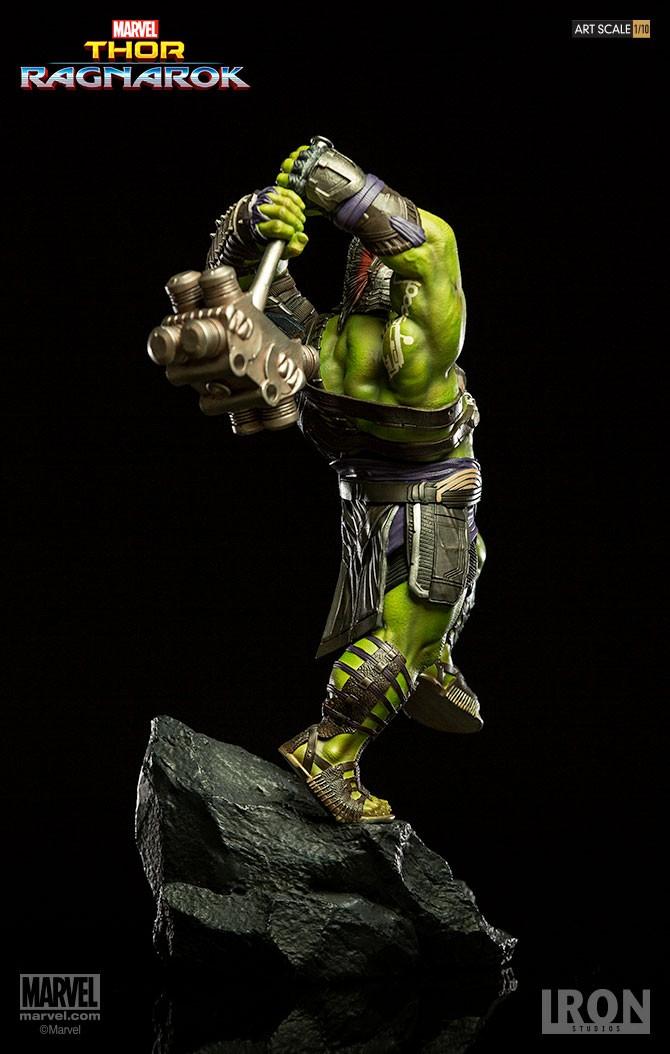 IRON STUDIOS: HULK Thor Ragnarok  Preto017