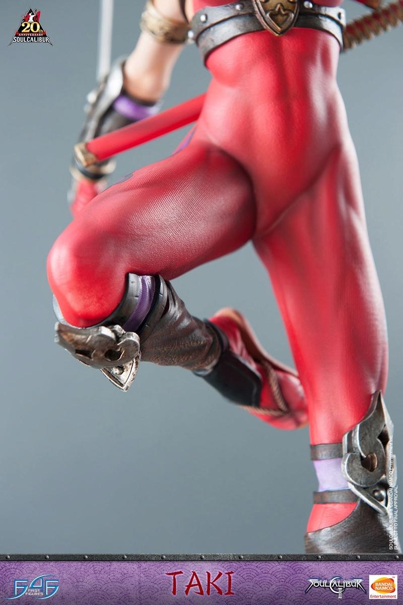 Soul Calibur II - Taki - First 4 Figures Vertic19
