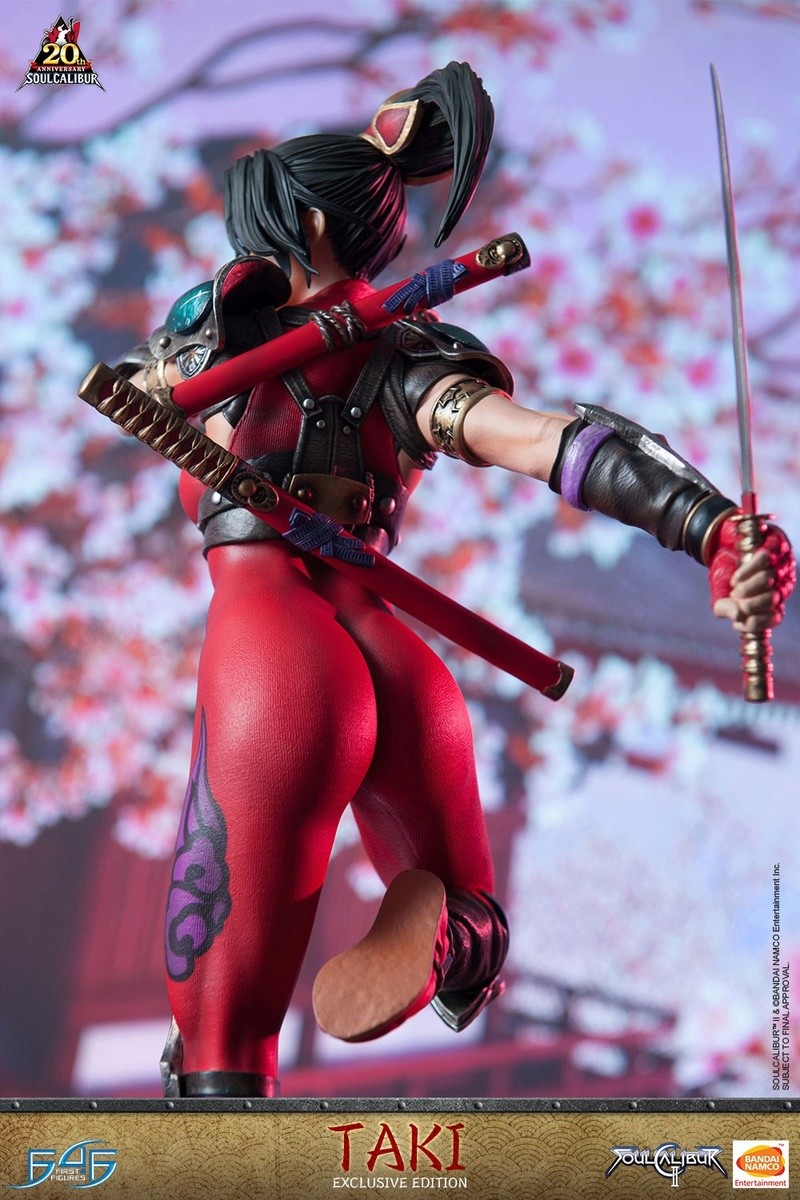 Soul Calibur II - Taki - First 4 Figures Vertic27